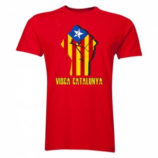 Visca Catalunya T-Shirt (Red) - Kids