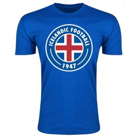 Iceland Core Logo T-Shirt (Blue)