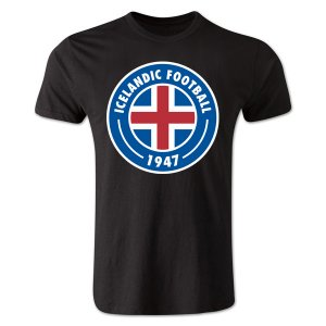 Iceland Core Logo T-Shirt (Black)