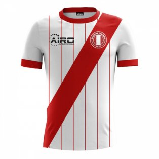 2017-2018 Peru Home Concept Football Shirt - Baby