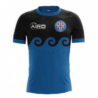 29b082b1d 2018-2019 Iceland Third Concept Football Shirt (Kids)