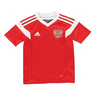 5b90473ec 2018-2019 Russia Home Adidas Football Shirt (Kids)