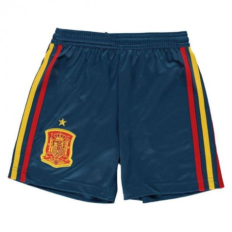 d3099c7ed1 2018-2019 Spain Home Adidas Football Shorts (Kids)  BR2710 ...