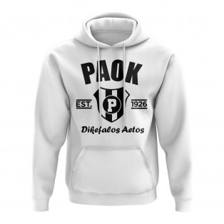 PAOK Established Football Hoody (White)