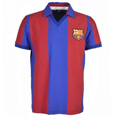 Barcelona 1980-1981 Retro Football Shirt