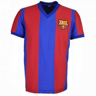 Barcelona 1976-1977 Retro Football Shirt
