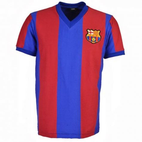 Barcelona 1976-1977 Retro Football Shirt