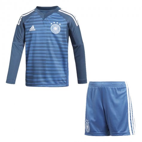 ac33ac4ee 2018-2019 Germany Home Goalkeeper Adidas Mini Kit  CE1725 ...