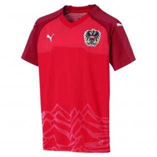2018-2019 Austria Home Puma Football Shirt (Kids)