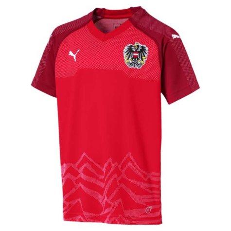 2018-2019 Austria Home Puma Football Shirt (Kids)