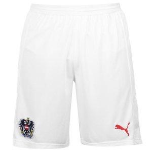 2018-2019 Austria Puma Home Shorts (White)