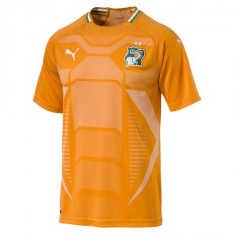 2018-2019 Ivory Coast Home Puma Football Shirt