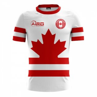 2020-2021 Canada Away Concept Football Shirt - Womens
