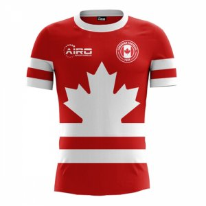 2018-2019 Canada Home Concept Football Shirt