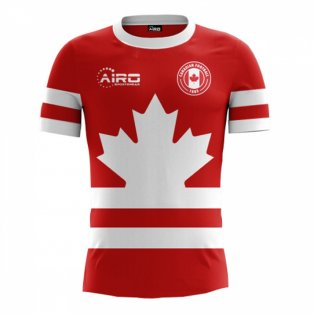 2018-2019 Canada Home Concept Football Shirt