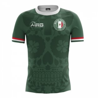 2018-2019 Mexico Home Concept Football Shirt - Womens