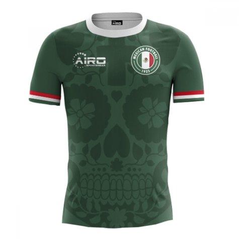 2020-2021 Mexico Home Concept Football Shirt