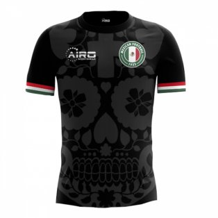 2020-2021 Mexico Third Concept Football Shirt
