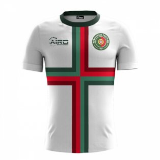 2020-2021 Portugal Away Concept Football Shirt