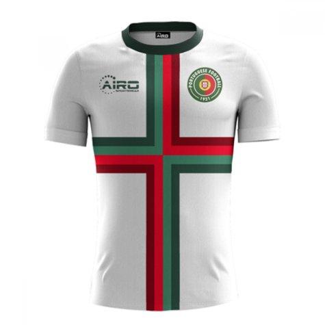 2018-2019 Portugal Away Concept Football Shirt (Kids)