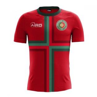 2018-2019 Portugal Home Concept Football Shirt (Kids)