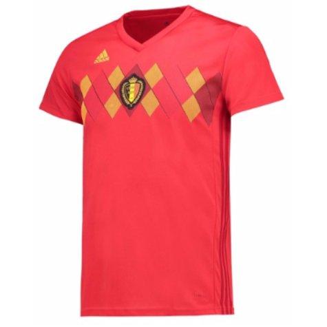 2018-2019 Belgium Home Adidas Womens Shirt