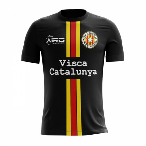 2017-2018 Catalunya Third Concept Football Shirt
