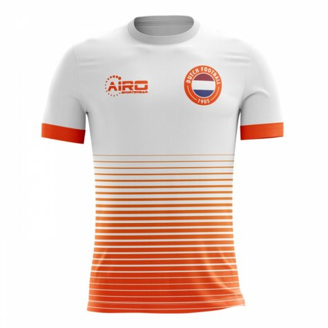 2018-2019 Holland Away Concept Football Shirt
