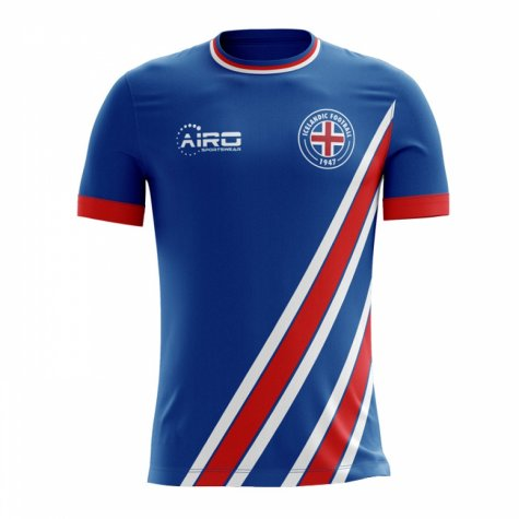 2020-2021 Iceland Home Concept Football Shirt - Little Boys