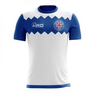 2020-2021 Iceland Away Concept Football Shirt (Kids)
