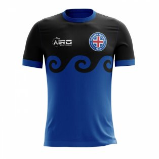 598449a4c 2018-2019 Iceland Third Concept Football Shirt