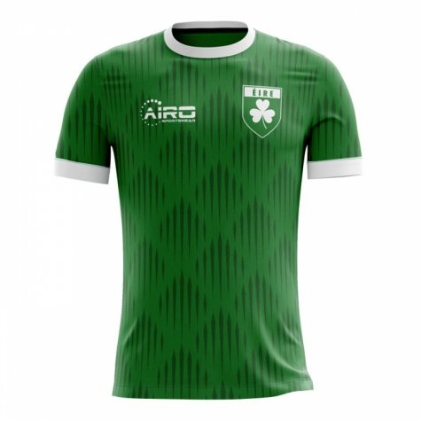 2018 2019 Ireland Home Concept Football Shirt Irelandh
