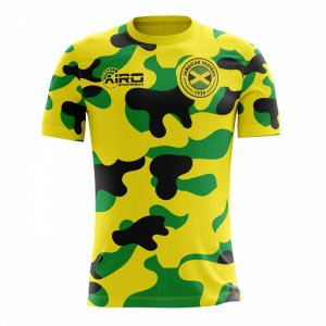 2020-2021 Jamaica Home Concept Football Shirt - Womens