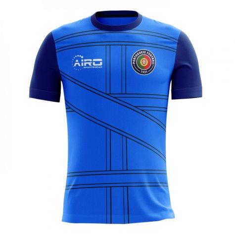 2018-2019 Portugal Third Concept Football Shirt - Womens