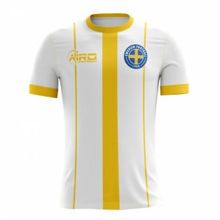 2018-2019 Sweden Third Concept Football Shirt - Baby