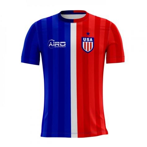 2018-2019 USA Away Concept Football Shirt