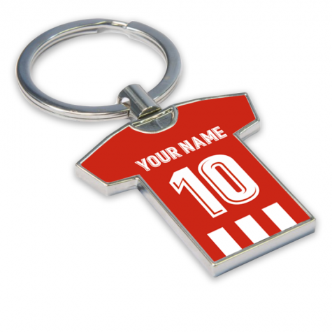 Personalised Atletico Madrid Key Ring