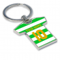Personalised Celtic Key Ring