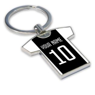 Personalised Juventus Key Ring