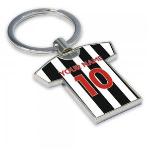 Personalised Newcastle United Key Ring