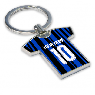 Personalised Inter Milan Key Ring