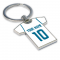 Personalised Real Madrid Key Ring