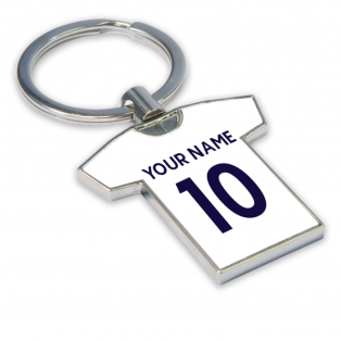 Personalised Tottenham Hotspur Key Ring