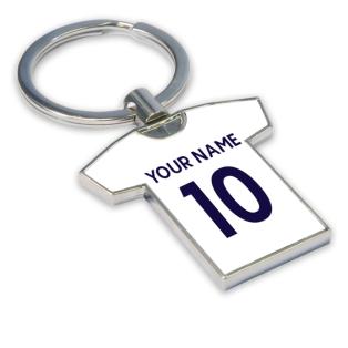 Personalised Tottenham Hotspur Key Ring