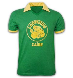 Zaire WC 1974 Short Sleeve Retro Shirt 100% cotton