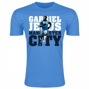Gabriel Jesus Man City T-Shirt (Sky)