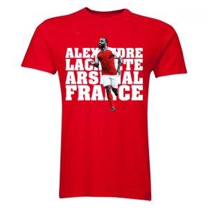 Alexandre Lacazette Arsenal Player T-Shirt (Red)