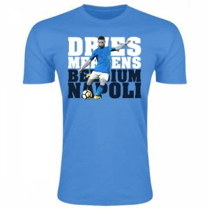 Dries Mertens Napoli Player T-Shirt (Sky Blue)