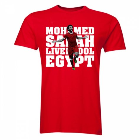 Mohamed Salah Liverpool Player T-Shirt (Red)