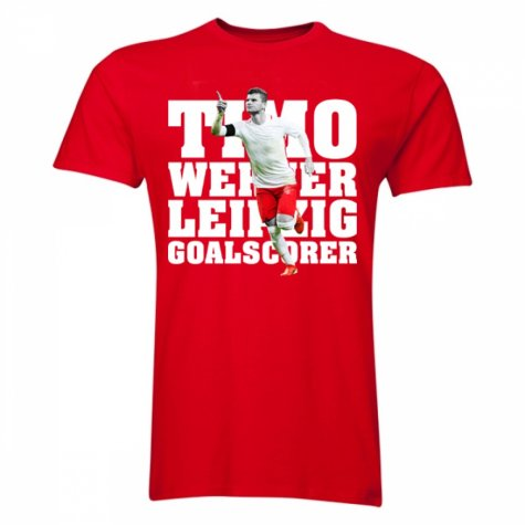 Timo Werner Player T-Shirt (Red) - Kids